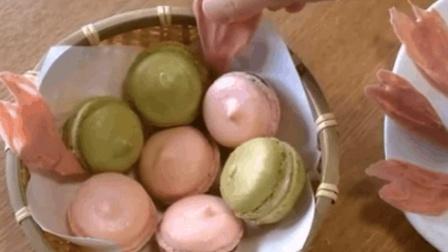 迷你马卡龙甜点      Mini   Food   Mini  Kitchen