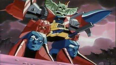神龙斗士合体魔神到底有多厉害,龙神丸力量全开三人对一都打不过