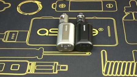 砖头小学生带你了解aspire电子烟极速套装主机外观是怎么样