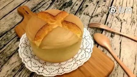 超级好吃的烫面戚风蛋糕! 非常值得一试的方子
