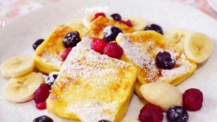 《法式红糖煎吐司》送上亲手做的美食, 在家也可以浪漫哦