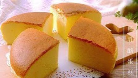 自制轻乳酪蛋糕, 极致细腻柔软的棉花蛋糕, 入口即化超好吃!