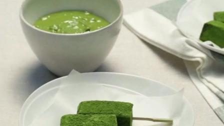 甜品的诱惑 制作超级美味的抹茶糯米糍!