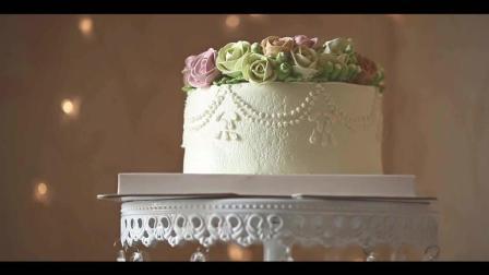 韩式蛋糕裱花, 微微一笑很倾城, 爱情的味道!