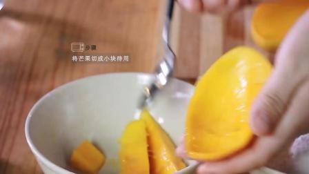 芒果雪媚娘的做法之十万个美食节目