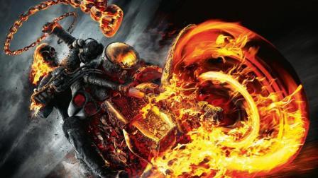 美国超级英雄: 恶灵骑士-2 地狱火点燃了1整个车队造成车祸