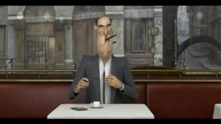 表面与现实可能相差甚远  入围第82届奥斯卡最佳动画短片 French Roast 法式烘焙咖啡