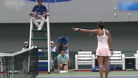 全运会网球比赛未设置鹰眼系统? 解析张帅为何质疑裁判