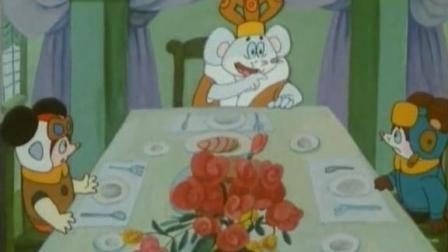 老鼠吃猫肉! 当时看到《舒克和贝塔》这一幕很吃惊! 童年惊悚回忆
