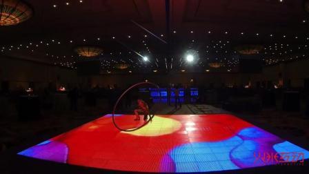 LED地砖屏在表演舞台的应用实例-火米互动