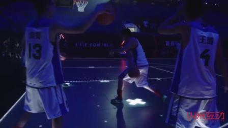 LED地砖屏在篮球表演中的应用实例-火米互动