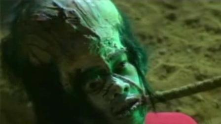 【老电影故事】80年代经典邵氏恐怖片, 这效果当时能吓死一卡车人吧?