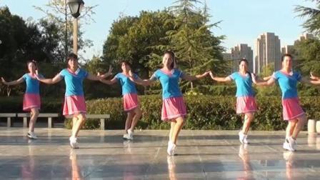 茉莉广场舞花桥流水 最新原创健身舞简单轻松运动