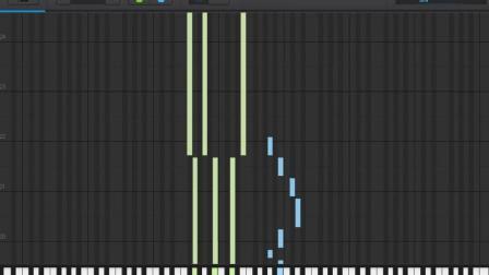 九张机-双世宠妃主题曲-数字谱 瀑布流