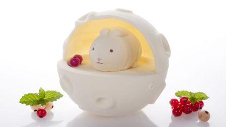 莫夫教室—中秋节蛋糕系列之兔兔的星球蛋糕