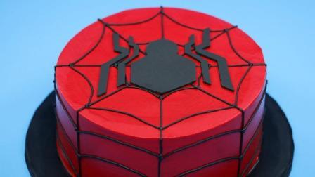 【洛洛烘培坊】如何做一个蜘蛛侠蛋糕@柚子木字幕组