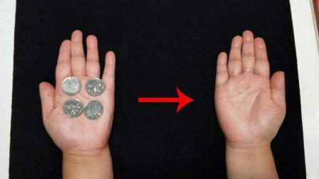 硬币从左手跳到右手, 骗过了亿万观众的魔术, 看完恍然大悟