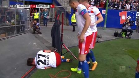 又给天下足球送素材! 神人进球庆祝重伤膝盖离场伤停七个月