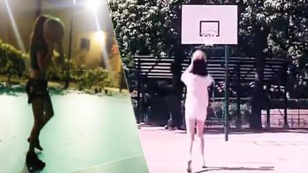 NBA球队千金打球堪比王祖贤 国王老板女儿安嘉利打球有模有样