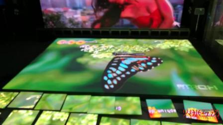 P6 25mm高清LED视频舞蹈地砖老化演示-火米互动