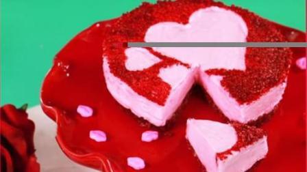 爱心蛋糕 过生日的狮子座! 不谢