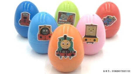 警车珀利拆托马斯小火车奇趣蛋玩具 09