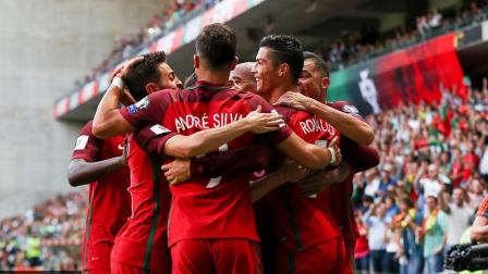 [10分钟集锦]世预赛-C罗帽子戏法加助攻 葡萄牙5-1法罗群岛取6连胜
