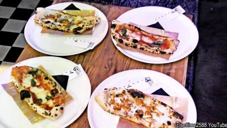 偶遇波兰华沙街头美食节 手工现场制作美味的小披萨饼