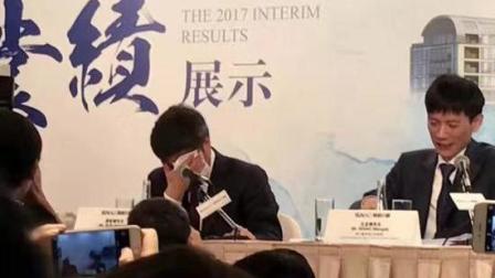 孙宏斌谈乐视瞬间哽咽:一定把乐视做成一个好公司