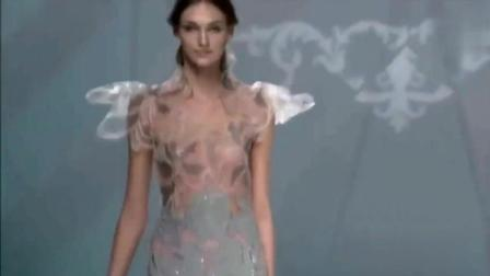 欧美透明薄纱长裙秀, 性感蕾丝, 每一步都在挑逗你的神经!