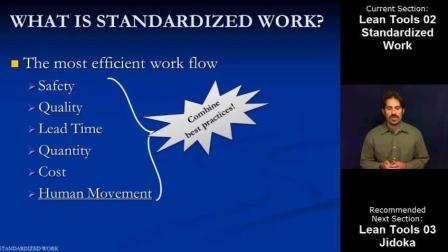 精益工具02: 标准化