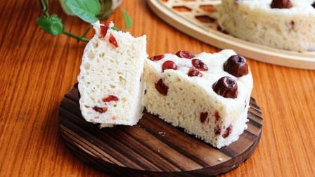 给大家分享一个红枣牛奶发糕的做法, 好吃又营养