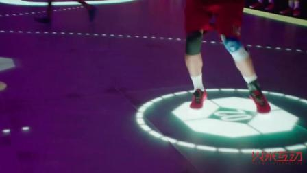 LED篮球场好炫酷, 一切都是因为地砖屏-火米互动
