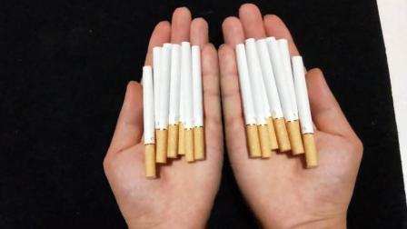 空手如何才能变出烟? 一个可以撩妹的生活小魔术