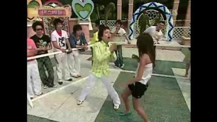 《情书》申正焕与长腿美女大跳兔子舞, 搞笑的不要不要的