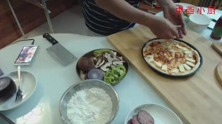 【披萨大冒险】萨拉米西红柿香菜香菇VS萨拉米洋葱青椒香菇披萨 浓缩版 (2)