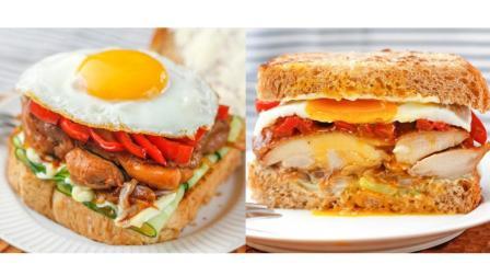 《异世界食堂》的照烧鸡三明治与黄油土豆