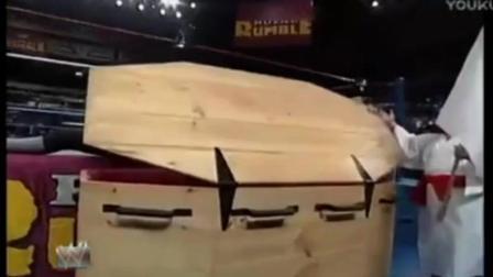 WWE送葬者对打日本500斤相扑选手 5