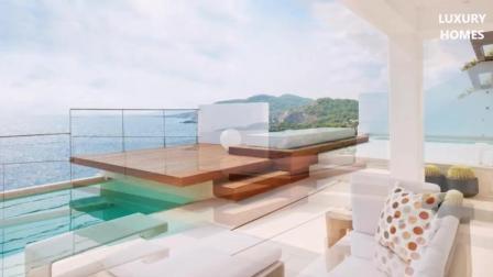 外国豪宅欣赏, 西班牙的时尚现代豪华住宅, 梦幻一般的豪宅