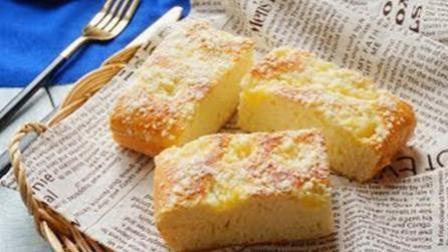 """美食制作""""凤梨酥粒面包"""", 口感如蛋糕般细腻, 味道真的很赞!"""