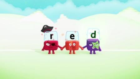 自然拼读-积木英语-Alphablocks - Word Magic _R-E-D_ (Red Level Step 4)