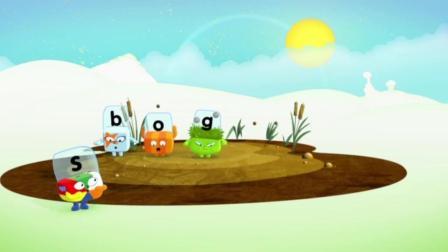 自然拼读-积木英语-Alphablocks - Word Magic _B-O-X_ (Orange Level Step 7)
