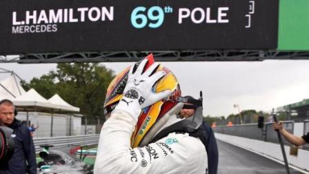 超越塞纳, 超越舒马赫, 汉密尔顿成为F1史上夺取杆位最多的车手