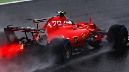 2017F1意大利站 排位赛回顾一场超长的雨战, 汉密尔顿拿到杆位