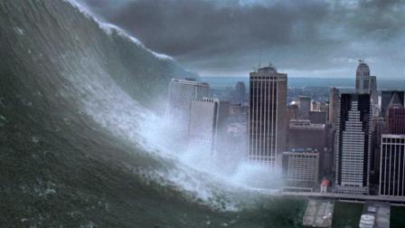 科幻5分钟 彗星撞击地球, 引发大海啸! 5分钟看完科幻灾难片《天地大冲撞》