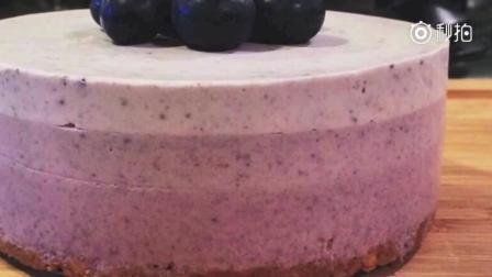 免焗蓝苺芝士蛋糕