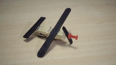 衣夹加冰棍棒, 手工制作的迷你可爱小飞机