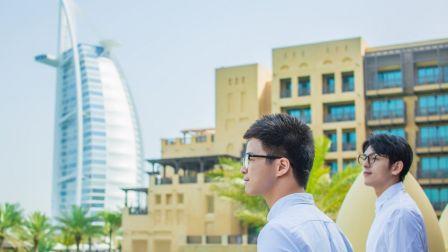从心出发,摄影师金浩森和文子的迪拜之旅