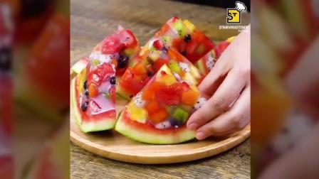 手把手教你做高颜值又好吃的西瓜冰