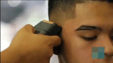 小木屋发型: 2017男士短发发型集锦, 眉毛头发一起修, 精神酷帅
